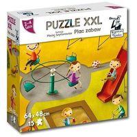 Książki dla dzieci, Puzzle XXL Plac zabaw 2-4 lata