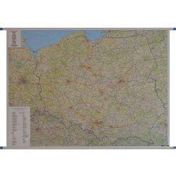 Mapa ścienna Polska samochodowa 1:700 000