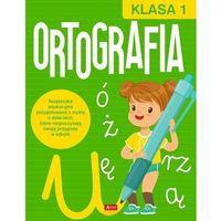 Literatura młodzieżowa, Ortografia. Klasa 1 - książka (opr. broszurowa)