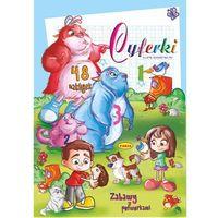 Książki dla dzieci, Cyferki - zabawy z potworkami (opr. broszurowa)
