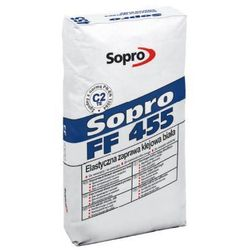 SOPRO FF 455- biała, elastyczna zaprawa klejowa, 25 kg