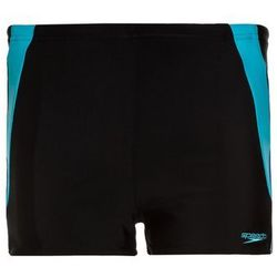 Speedo COLOUR BLOCK Kąpielówki black/amparo blue/turquoise