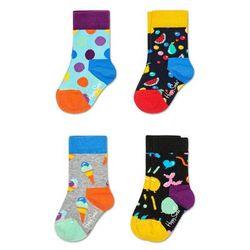 Happy Socks - Skarpetki dziecięce 15-26 (4-pak)