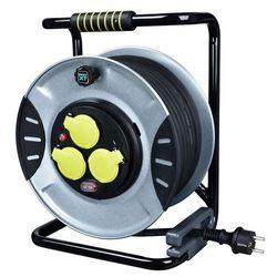 Przedłużacz bębnowy Masterplug metalowy 3 x 1,5 mm2 30 m