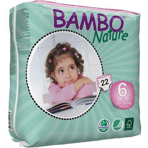Pieluchy jednorazowe, BAMBO Nature XL (16-30kg) 22 szt. - pieluszki jednorazowe