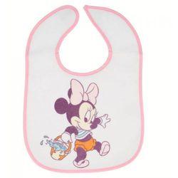 Minnie Mouse - Śliniak bawełniany (2 szt)