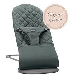 Leżaczek Bliss Babybjorn (greyish green organic cotton)