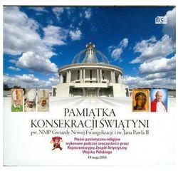 Pamiątka konsekracji świątyni (książeczka + CD) wyprzedaż 06/18 (-25%)