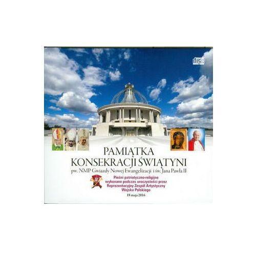 Muzyka religijna, Pamiątka konsekracji świątyni (książeczka + CD) wyprzedaż 06/18 (-25%)