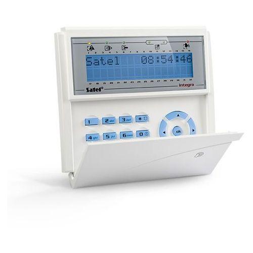 Centralki alarmowe, INT-KLCDR-BL Manipulator do centrali alarmowej z czytnikiem kart zbliżeniowych Satel