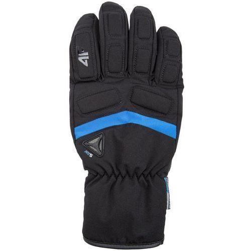 Odzież do sportów zimowych, 4F męskie rękawice narciarskie H4Z17 REM004 M czarny