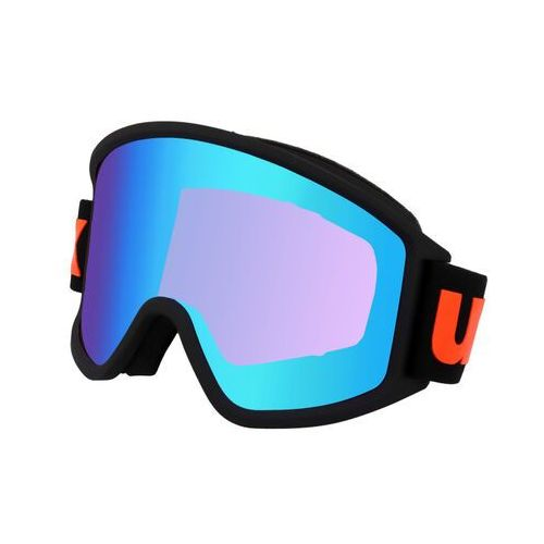 Kaski i gogle, UVEX g.gl 3000 CV Gogle, black mat/Colorvision blue energy 2019 Gogle narciarskie