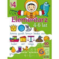 Książki dla dzieci, Praca zbiorowa. Elementarz cz.4 4-6 lat (opr. kartonowa)