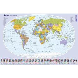 Mapa Świata. Podkładka na biurko