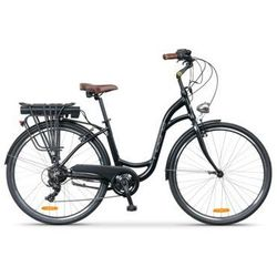 Rower elektryczny INDIANA E-City D17 Czarny