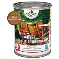 Podkłady i grunty, Olej do mebli ogrodowych Colorit Drewno teak indonezyjski 0,75 l