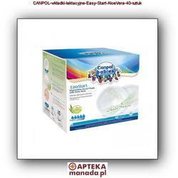 CANPOL 19/608 40szt EasyStart Wkładki laktacyjne z aloesem