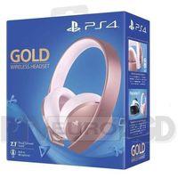 Akcesoria do PS 4, Sony PlayStation Wireless Headset Gold (różowe złoto)