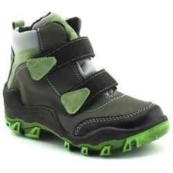 Buty zimowe dla dzieci Kornecki 06394 Grafit - Zielony ||Grafitowy