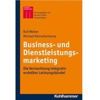 Biblioteka biznesu, Business- und Dienstleistungsmarketing Kleinaltenkamp, Michael