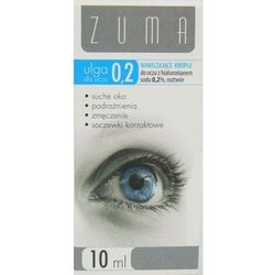 Zuma ulga krople do oczu 0,2% z hialuronianem sodu 10 ml