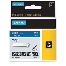 Dymo taśma do drukarek etykiet 1805423, w kolorze białym druk/niebieski podkład, 5,5m, 24mm