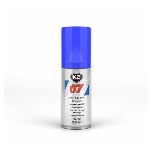 Smary, K2 07 smar odrdzewiacz w sprayu wielozadaniowy penetrant 50ml