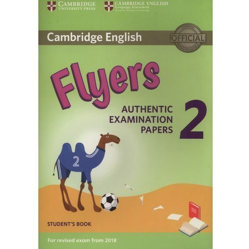 Książki do nauki języka, Cambridge English Flyers 2 Student's book (opr. miękka)