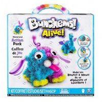 Kreatywne dla dzieci, Bunchems Kolorowe Rzepy ALIVE ZWIERZĄTKA wibrującą kula