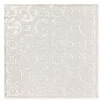 Glazura i terakota, inserto Crystal Palace B white (biały) 20 x 20 OD625-004