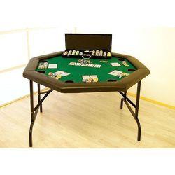 Idealny składany stół octagon do pokera.
