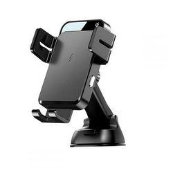 Uchwyt samochodowy Joyroom Dashboard Wireless Charger Black