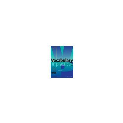 Książki do nauki języka, Vocabulary In Practice 1 Beginner (opr. miękka)
