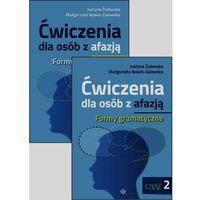 Książki medyczne, Ćwiczenia dla osób z afazją Formy gramatyczne Część 1-2 (opr. broszurowa)