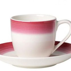 Villeroy & Boch - Colourful Life Berry Fantasy Filiżanka do espresso ze spodkiem