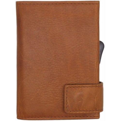 Etui i pokrowce, SecWal SecWal 1 Kreditkartenetui Geldbörse RFID Leder 9 cm cognac ZAPISZ SIĘ DO NASZEGO NEWSLETTERA, A OTRZYMASZ VOUCHER Z 15% ZNIŻKĄ