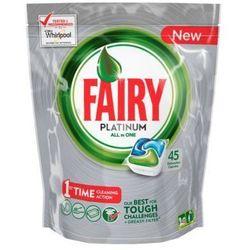 FAIRY 45szt Platinum All In One Regular Tabletki do zmywarki