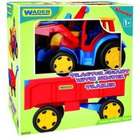 Traktory dla dzieci, Ładowarka z przyczepą 120 cm Gigant Traktor