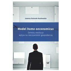Model homo oeconomicus - Joanna Dzionek-Kozłowska (opr. broszurowa)