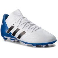 Buty sportowe dla dzieci, Buty adidas - Nemeziz Messi 18.3 Fg J DB2364 Ftwwht/Cblack/Fooblu
