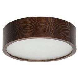 Plafon Kanlux Jasmin 270-WE 23120 lampa sufitowa 1x60W E27 wenge