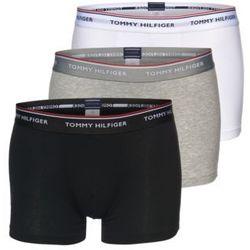 Tommy Hilfiger Underwear Bokserki 'Trunk' szary / czarny / biały
