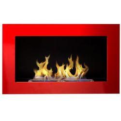 Biokominek Globmetal 650x400 czerwony połysk + GRATIS
