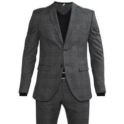 Selected Homme SHDONEMYLO PRINCE CHECK Garnitur medium grey melange