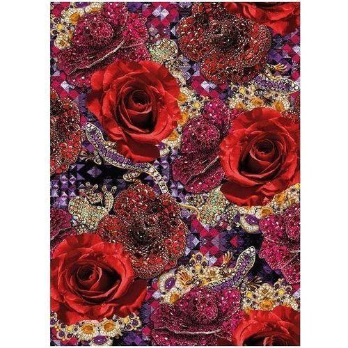 Pozostałe artykuły szkolne, Karnet B6 z kopertą Precious Rose