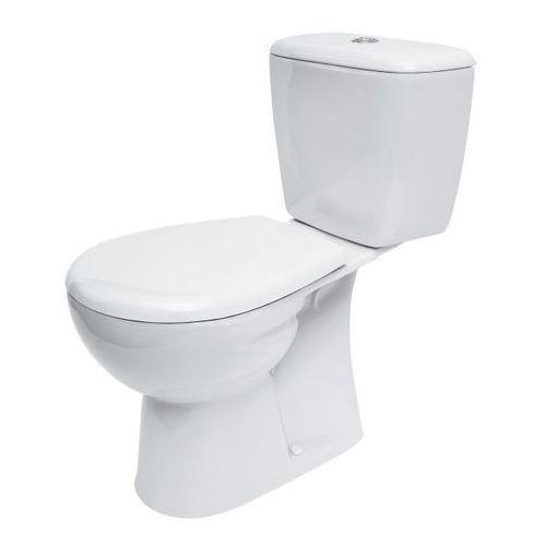 Miski i kompakty WC, Kompakt WC Cersanit Nevada 3/6 l pionowy z deską wolnoopadającą