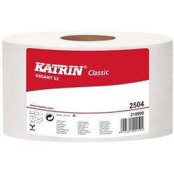 Papier toaletowy Katrin Classic Gigant S 2, 2 warstwy, makulatura bielona - 12 rolek, 473242
