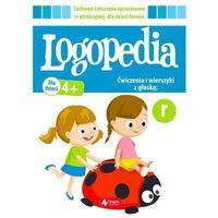 Książki dla dzieci, Logopedia ćwiczenia I wierszyki z głoską r (opr. broszurowa)