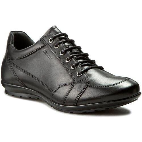 Półbuty męskie, Sneakersy GEOX - U Symbol D U34A5D 00043 C9999 Czarny