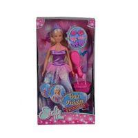 Lalki dla dzieci, Steffi Księżniczka z magiczną szczotką - Simba Toys